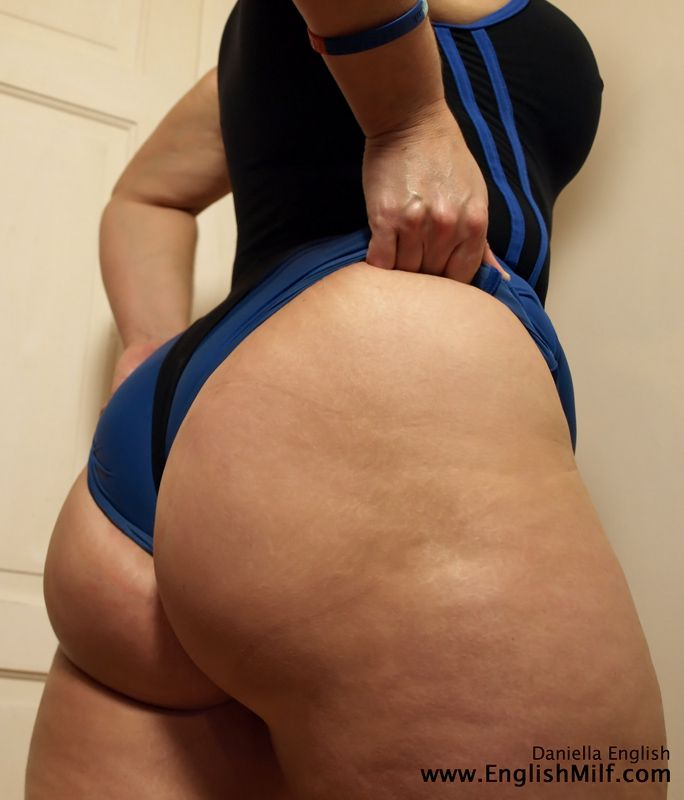 Booty ass english big milf